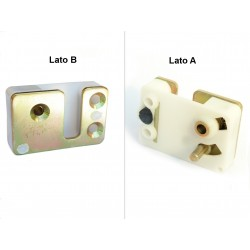 Placca serratura sinistra nuovo modello