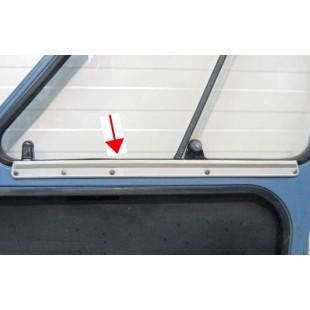 2402 Coppia guide in plastica vetri scorrevoli porte anteriori