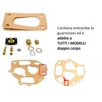 Kit revisione carburatore doppio corpo per tutti i modelli