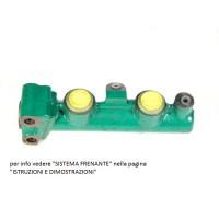 Pompa freno liquido LHM doppio circuito - diam.10