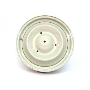 504 Cerchione ruota verniciato grigio