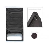 1600 Capote antracite (nera) tela rinforzata chiusura interna