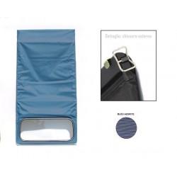 1630 Capote blu azurite chiusura esterna