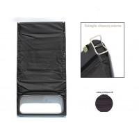 1637 Capote grigio antracite (riga piccola) chiusura esterna