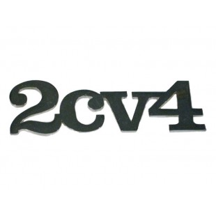 1704 Monogramma 2CV4 cromato