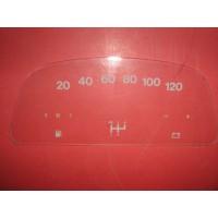 1717 Vetrino contakm stampato 2cv4 - Charleston (12V Veglia 120 KM/h)