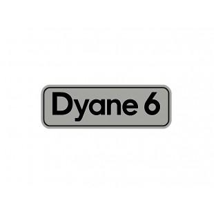 2701 adesivo dyane 6 fondo argento