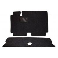 806g kit tappetini anteriori e posteriori in moquettes grigia