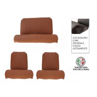825 Kit rivestimenti marroni areato tondo bordo