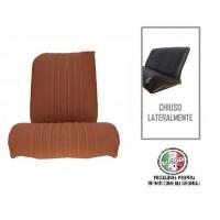 Rivestimento sedile anteriore destro skai marrone areato angolo retto, chiuso lateralmente