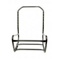 Struttura in ferro sedile anteriore sinistro 2cv e Dyane (senza leveraggi)