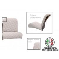 rivestimento sedile anteriore separati sinistro (angolo tondo) CHARLESTON