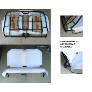 2800 gommapiuma panca post reclinabile