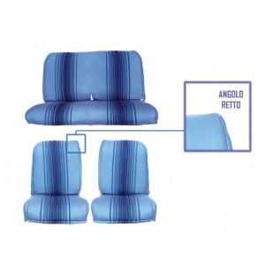 2801 rivestimenti panca fissa righe blu angolo retto)
