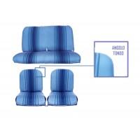 2807 rivestimenti panca fissa righe blu angolo tondo