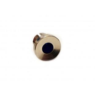 286 lente per spia cruscotto cromata