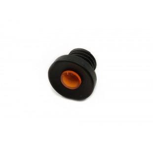 291 lente per spia cruscotto nera