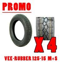 PROMO Vee-RUBBER 125-15 M+S