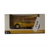 Modellino Citroën Mehari giallo