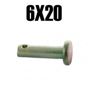 026 Coppiglia cavo frizione + leva freno a mano 6x20mm