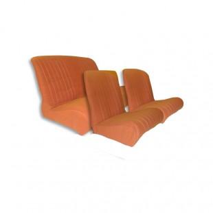1817 Kit rivestimenti sedili ant. angolo RETTO + panca post. orange spot (tessuto q. inf.)