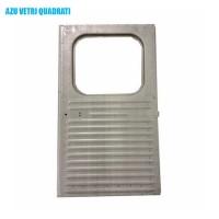 1572 Portello posteriore destro AZU vetro quadrato