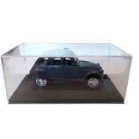 Modellino Citroën 2CV blu scuro