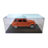 Modellino Citroën 2CV arancione