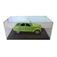 Modellino Citroën 2CV verde prato