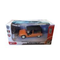 Modellino Citroën Mehari arancio