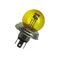 Lampada faro anteriore gialla CE 6V 40/45W