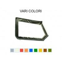3632 Telo alto di porta sinistro con cerniera retrovisore diversi colori (specifica colore)