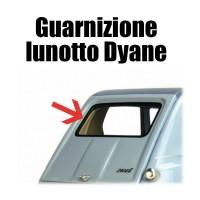 Guarnizione vetro posteriore - lunotto Dyane