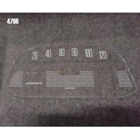Vetrino contakm stampato AMI6 (6V VEGLIA fondoscala 120 KM/h)
