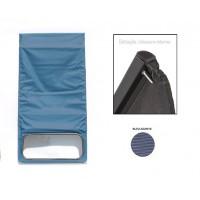1608PROMO Capote 2CV blu azurite chiusura interna PROMO