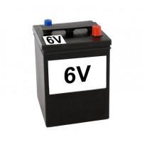 5218 Batteria classica quadrata come d'epoca 6V 84A