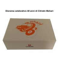 gadget106 Diorama Citroen Mehari 40 anni 1968-2008