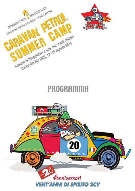Caravan Petrol Summer Camp 2018