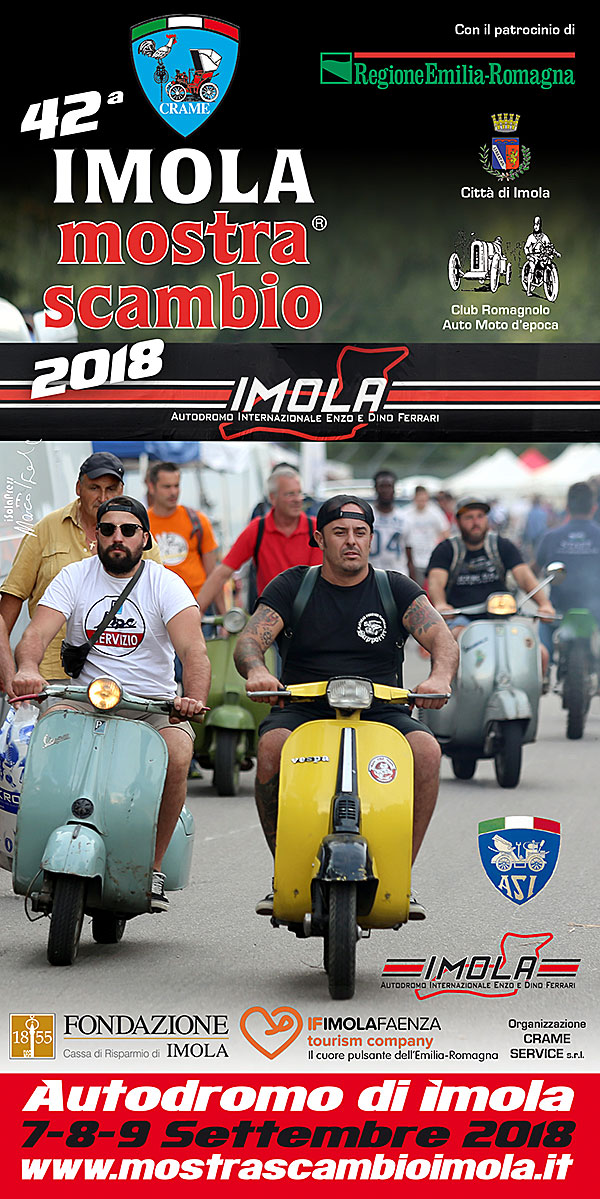 Imola 42 mostra scambio 2018