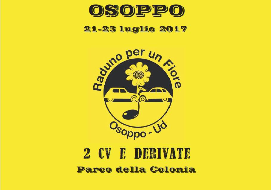 Osoppo 2017 Raduno 2CV