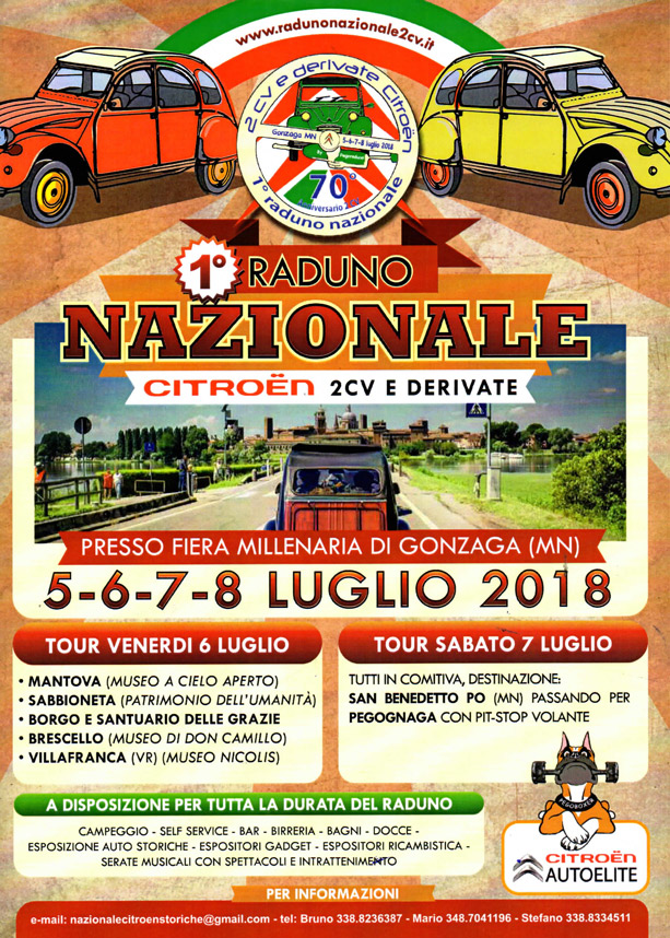 Gonzaga 1 raduno nazionale