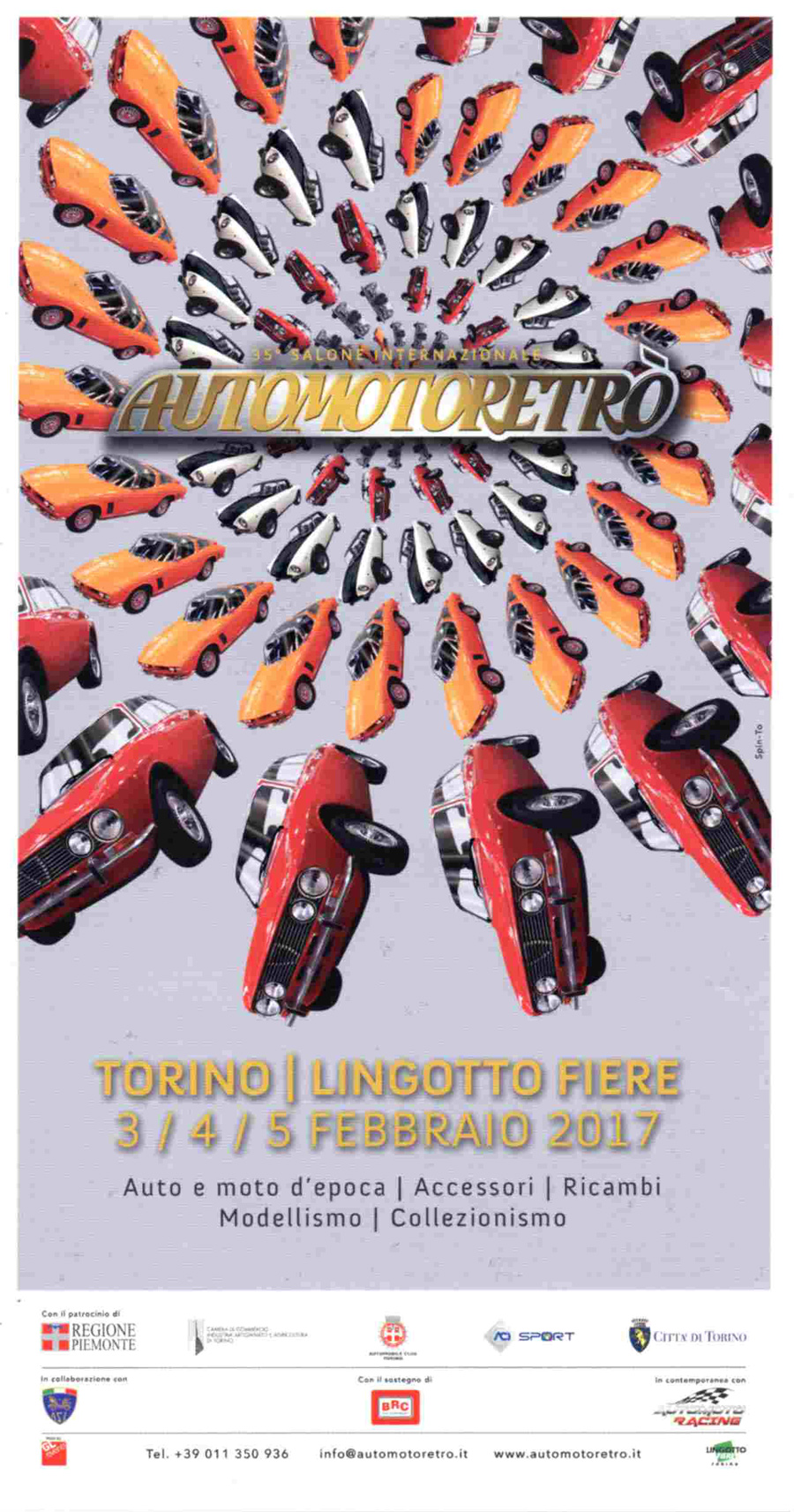 LINGOTTO FIERE - TORINO - AUTOMOTODEPOCA