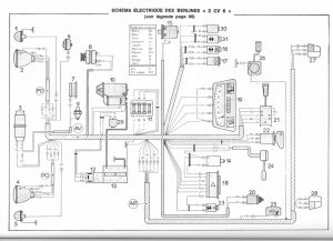 schema elettrico 2cv