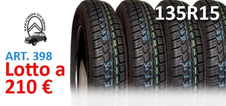 Articolo 398 pneumatici 135-15