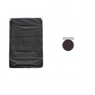 2600 Capote dyane grigio antracite (nera) tela rinforzata