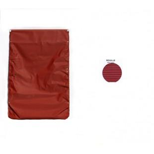 2618 capote rosso cinabro riga piccola