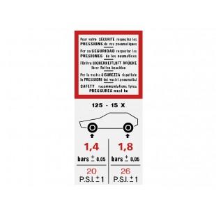 703 adesivo pressione gomme