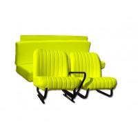3845 Kit sedilimehari skai giallo