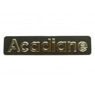 2702 monogramma acadiane