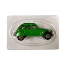 Modellino Citroen 2cv verde